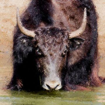 Porträt eines Yaks (Gemälde)