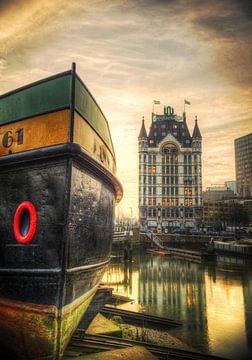 Weiße Haus, Rotterdam von Fotografie Arthur van Leeuwen