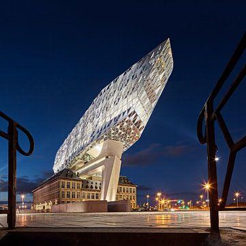 Antwerpener Hafenhaus von Zaha Hadid Architekten. von