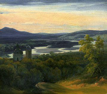 Salzach und Salzburg , 1800-1850 von Atelier Liesjes