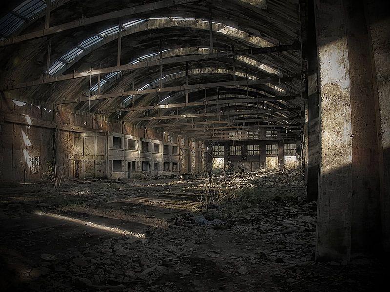 Hirson-Fabrik aufgegeben von Betty Heideman Fotografie