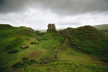 Fairy Glen op het eiland Skye van Katrin Friedl