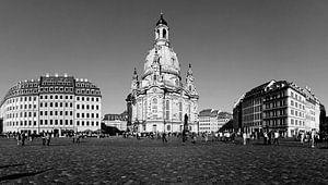 Dresden Neumarkt met Frauenkirche