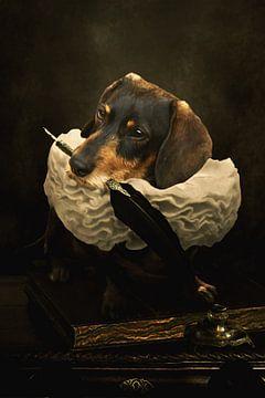 A dogs tale van Babette van den Berg