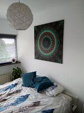 Kundenfoto: Mandala-Illusion grün von Marion Tenbergen