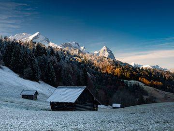 Morgenstimmung am Wettersteingebirge
