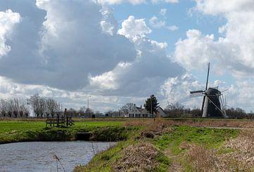 Moulin de Zwartenberg sur Ingrid Aanen
