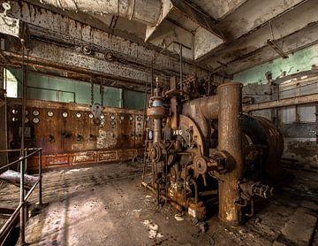 Alter machinenraum von Olivier Van Cauwelaert