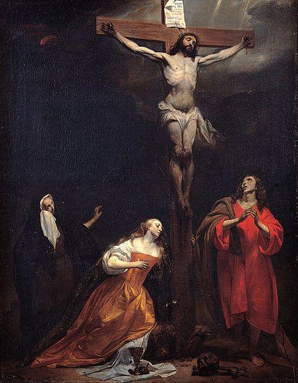 Gabriel Metsu - Crucifixion van 1000 Schilderijen