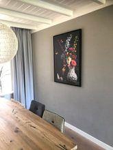 Klantfoto: Stilleven Bloemen Balthasar van der Ast van Sander Van Laar, op canvas