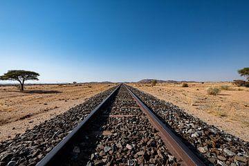 Chemin de fer en Namibie sur Thomas Bollaert