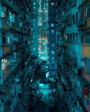 Hong Kong: Nacht in de Eindeloze Stad van Rudmer Hoekstra