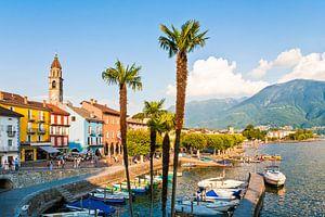 Ascona am Lago Maggiore in der Schweiz