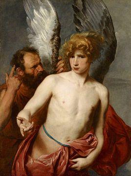 Dédale et Icare, Anthony van Dyck