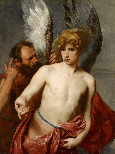 Daedalus und Ikarus, Anthony van Dyck von Meesterlijcke Meesters