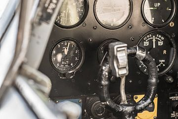 Instrumenten van een Spitfire van Floris Oosterveld