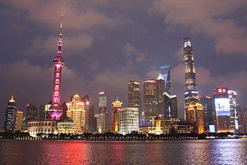 The Bund Shanghai China van