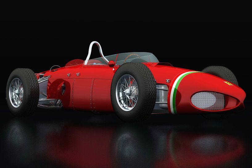 Ferrari 156 Shark Nose driekwart zicht van Jan Keteleer
