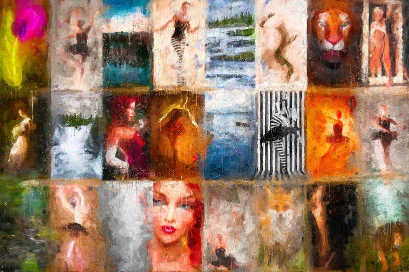 Een Horizontale Verticale collage van Arjen Roos