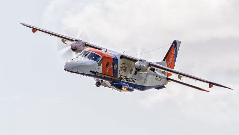 Kustwachtvliegtuig van Roel Ovinge