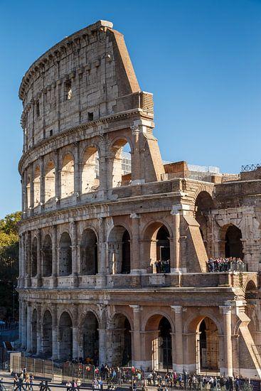 Het Colosseum in Italië.