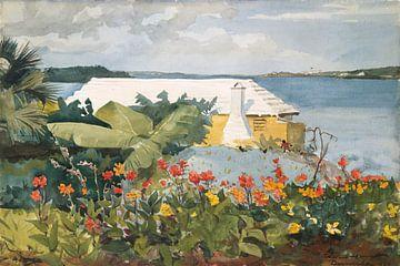 Winslow Homer-Blumengarten und Bungalow, Bermuda