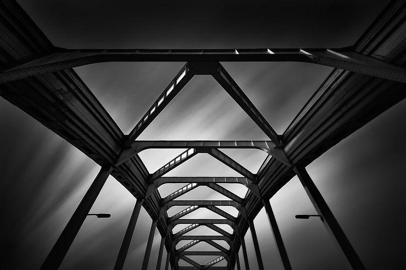 De Viaanse Boogbrug (Zwart-wit) von John Verbruggen
