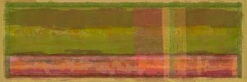 Panorama 'Rothko', aardetinten van Rietje Bulthuis