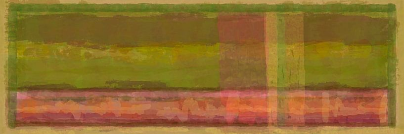 Panorama 'Rothko', erdige Töne von Rietje Bulthuis