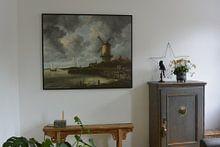 Kundenfoto: Die Mühle von Wijk bij Duurstede - Jacob van Ruisdael, auf leinwand