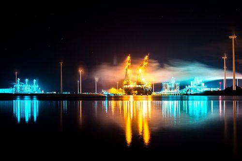 Industrial port of Groningen von Aitches Photography