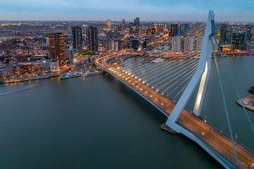 Skyline van Rotterdam van Arisca van 't Hof