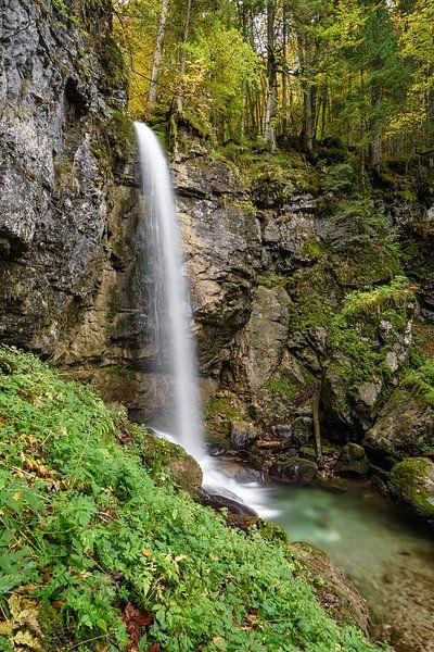 Sibli-Wasserfall in Bayern von Michael Valjak