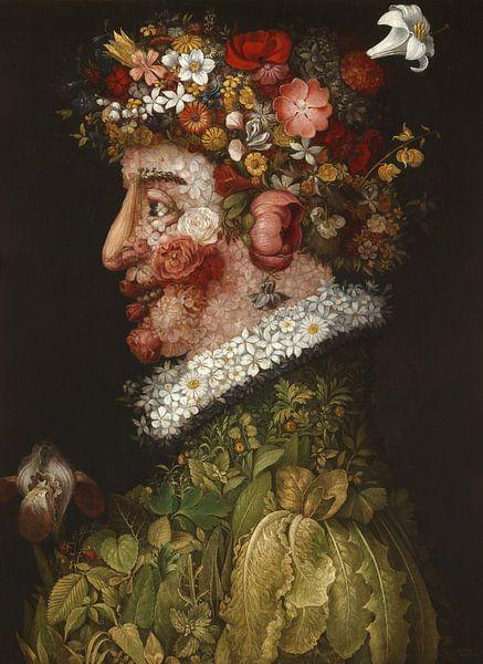 Giuseppe Arcimboldo, Spring (Lente) van Meesterlijcke Meesters