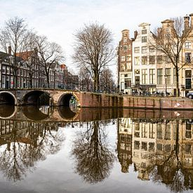 Herengracht in Amsterdam van Inge van den Brande