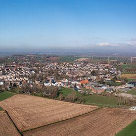 Photo aérienne d'Ubachsberg dans le sud du Limbourg sur John Kreukniet