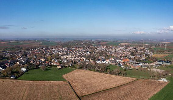 Luchtfoto van Ubachsberg in Zuid-Limburg
