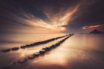 Wellenbrecher auf Usedom von Skyze Photography by André Stein