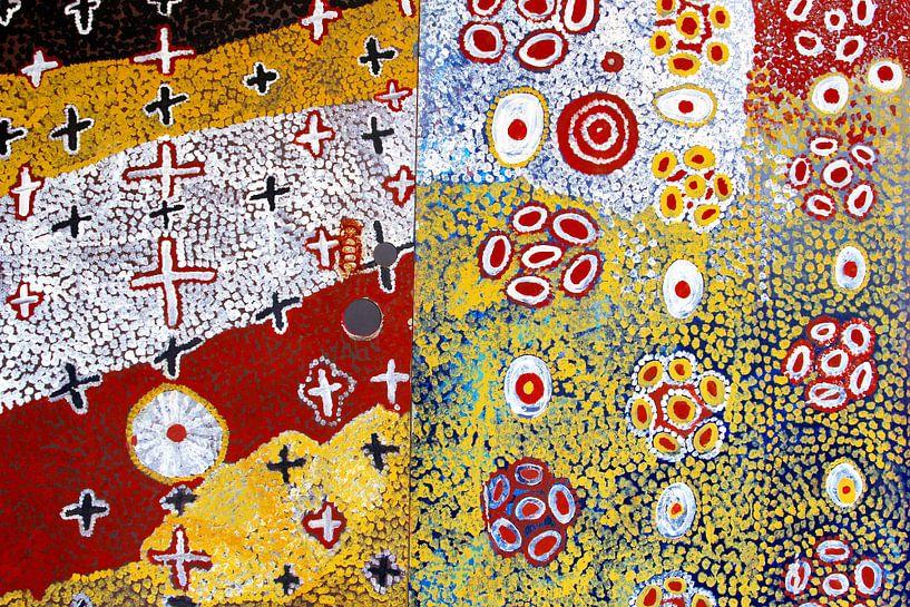 Aboriginal schilderkunst van Inge Hogenbijl