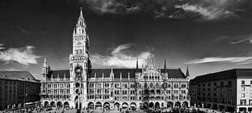 Stadhuis van München van Denis Feiner