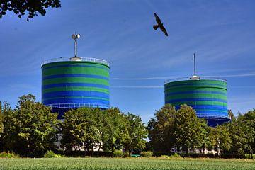 Wassertürme 5 von Edgar Schermaul