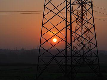 Electrifying sunrise von Daniela Rösch