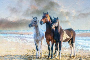 Mini paardjes art 1 van Marcel Kieffer