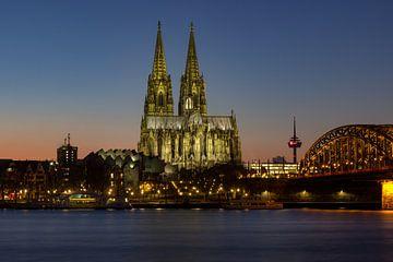 cathédrale de Cologne sur Dennis Eckert