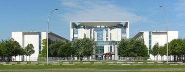 Chancellerie fédérale, district gouvernemental, Berlin, Allemagne sur Torsten Krüger