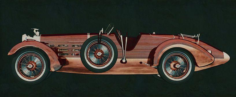 Hispano Suiza H6 Tulipwood 1924 von Jan Keteleer