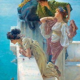Lawrence Alma-Tadema. A Coign of Vantage van 1000 Schilderijen