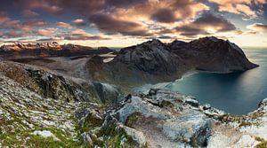 Panorama Ryten - Lofoten
