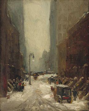 Robert Henri~Schnee in New York