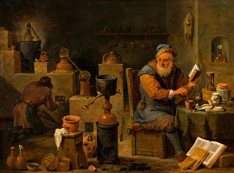 Der Alchemist, David Teniers II von Meesterlijcke Meesters